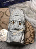 Quartz carved tribal leader - Angel Eyes Shop