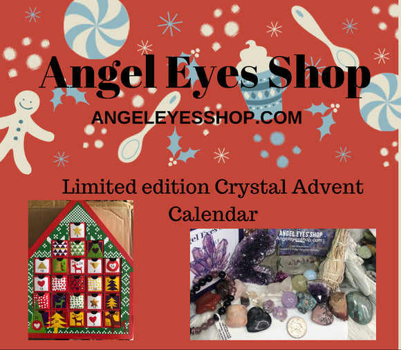 Angel Eyes Limited Edition Crystal Gemstone Advent Calendar - Angel Eyes Shop