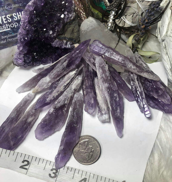 Royal amethyst aka Elestial amethyst aka cathedral amethyst - Angel Eyes Shop