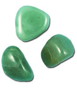 Green aventurine tumble - Angel Eye Spiritual Shop