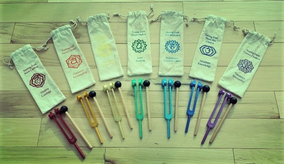Chakra tuning forks - Angel Eyes Shop