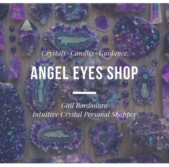 Gift certificate for Angel Eyes Shop including our Crystal Group on FB - Angel Eye Spiritual Shop
