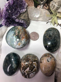 Ocean Jasper Palm Stones - Angel Eyes Shop