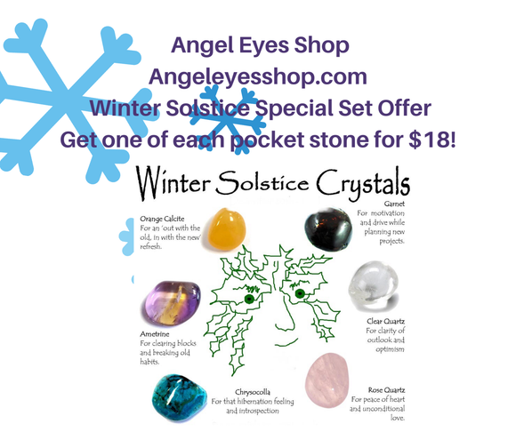 Winter Solstice special offer - Angel Eyes Shop