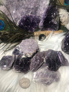 Lepidolite Mica books - Angel Eyes Shop