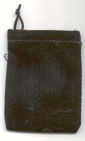 Black velvet pouch - Angel Eye Spiritual Shop