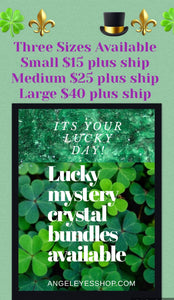 Lucky Mystery crystal bundles - Angel Eyes Shop