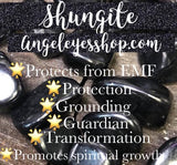 Shungite rough chips - Angel Eyes Shop