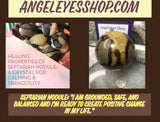 Septarian palm stone - Angel Eyes Shop