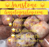Sunstone tumbles - Angel Eye Spiritual Shop