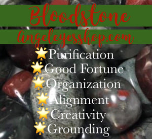 Bloodstone Tumble - Angel Eye Spiritual Shop
