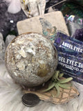 Ocean Jasper Sphere - Angel Eyes Shop