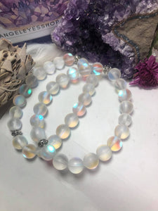 Mermaid glass 8mm bracelet - Angel Eyes Shop