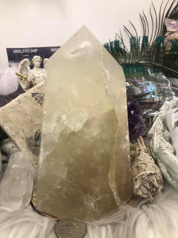 Quartz Large Tower - Angel Eyes Shop