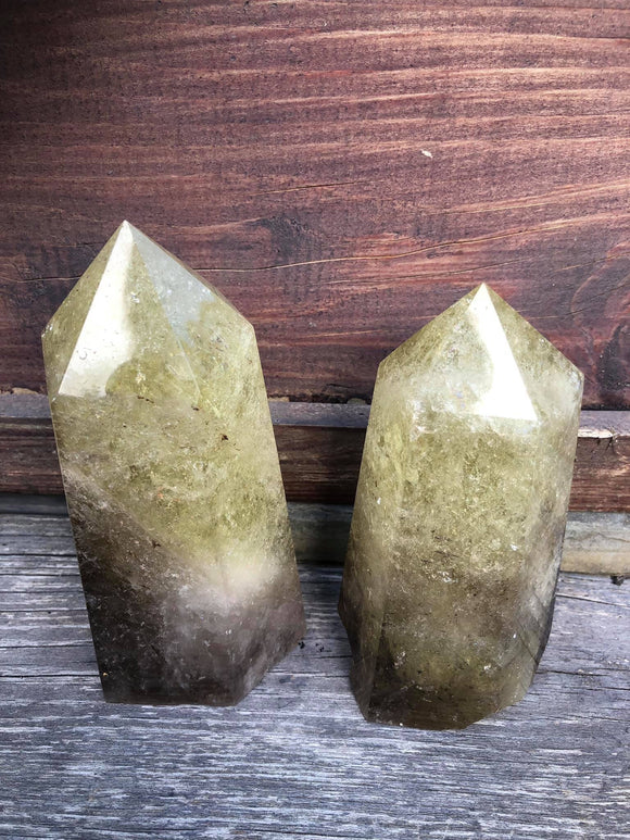 Smoky Citrine Towers - Angel Eyes Shop