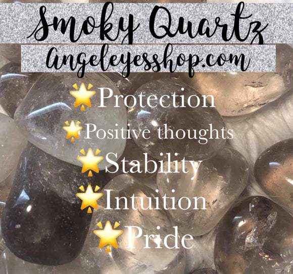 Smoky Quartz Tumble - Angel Eyes Shop