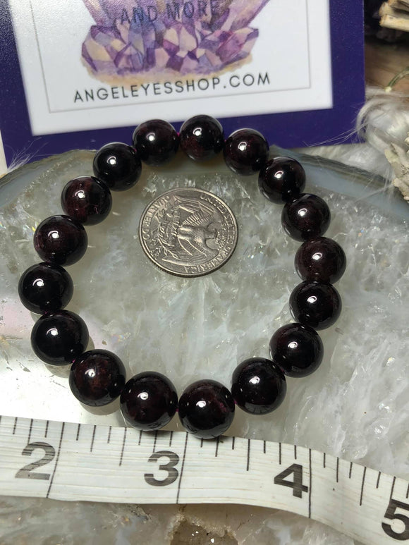 Garnet large bracelet - Angel Eyes Shop
