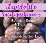 Lepidolite - Angel Eye Spiritual Shop