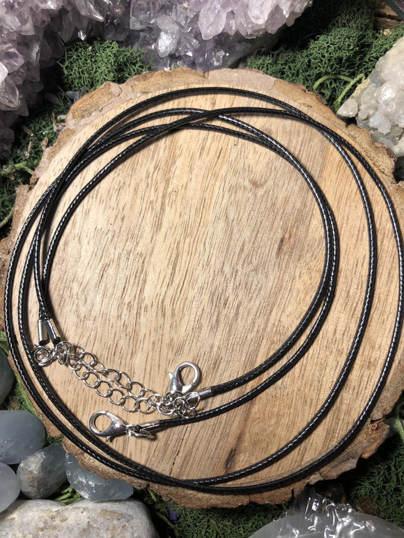 Black cord chain - Angel Eyes Shop