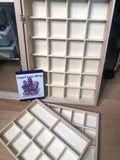 Crystal wooden tray storage boxes - Angel Eyes Shop