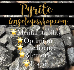 Pyrite rough tumbled - Angel Eyes Shop