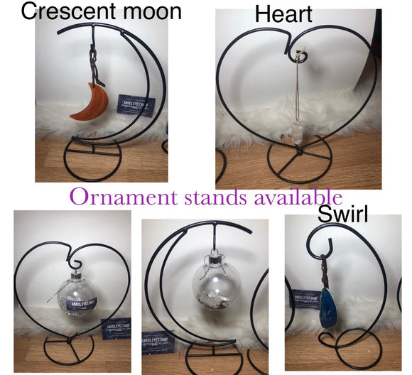 Ornamental iron ornament globe stands - Angel Eyes Shop