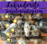 Labradorite Tumble - Angel Eyes Shop