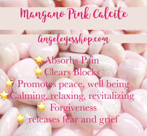 Mangano Calcite - Angel Eye Spiritual Shop