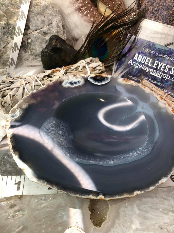 Agate Dish - Angel Eyes Shop