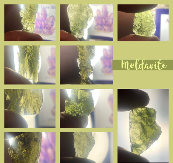 Moldavite - Angel Eyes Shop