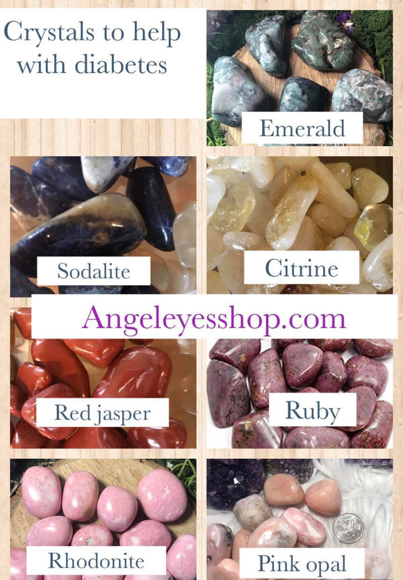 Crystals to help with diabetes - Angel Eye Spiritual Shop