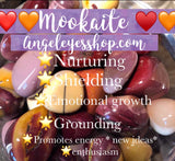 Mookaite tumbles - Angel Eye Spiritual Shop