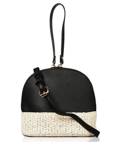 Trendy Straw Fashion Crossbody