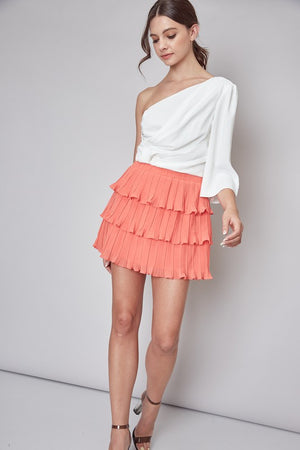 Ruffle Layer Skirt
