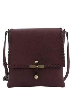 Burgundy Crossbody