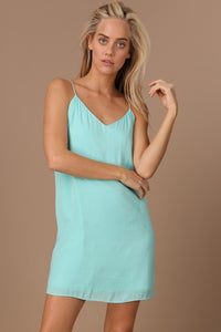 Aruba Blue Shift Cami Dress