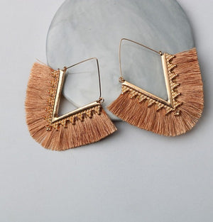 Bohemian Tassel Dangle Earring