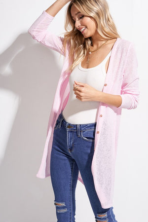 Light Weight Sheer Cardigan
