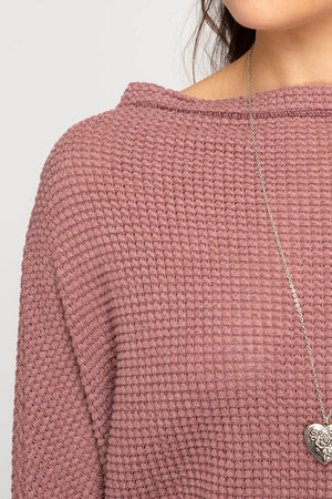 Red Bean Off Shoulder Thermal