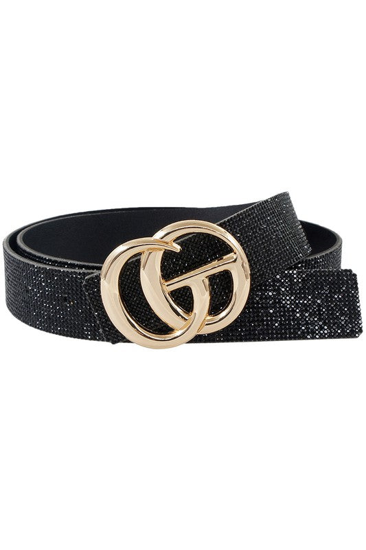 Crystal Rhinestone Double GO Belt
