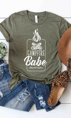 Campfire Babe Graphic Tee