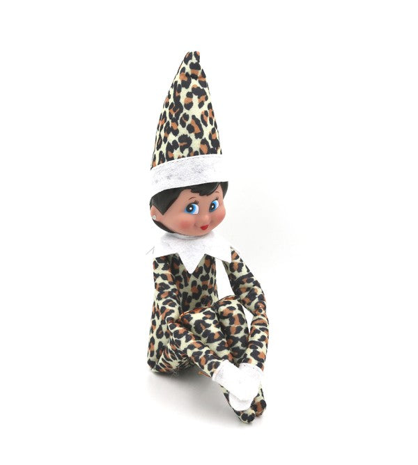 Leopard Elf on The Shelf
