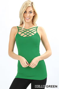 Kelly Green Cage Tank