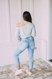 Grey Teal Off Shoulder Bodysuit