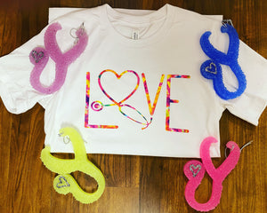 Stethoscope Love Tee