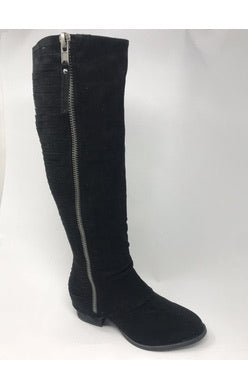 Black Stripes Galore Tall Boot
