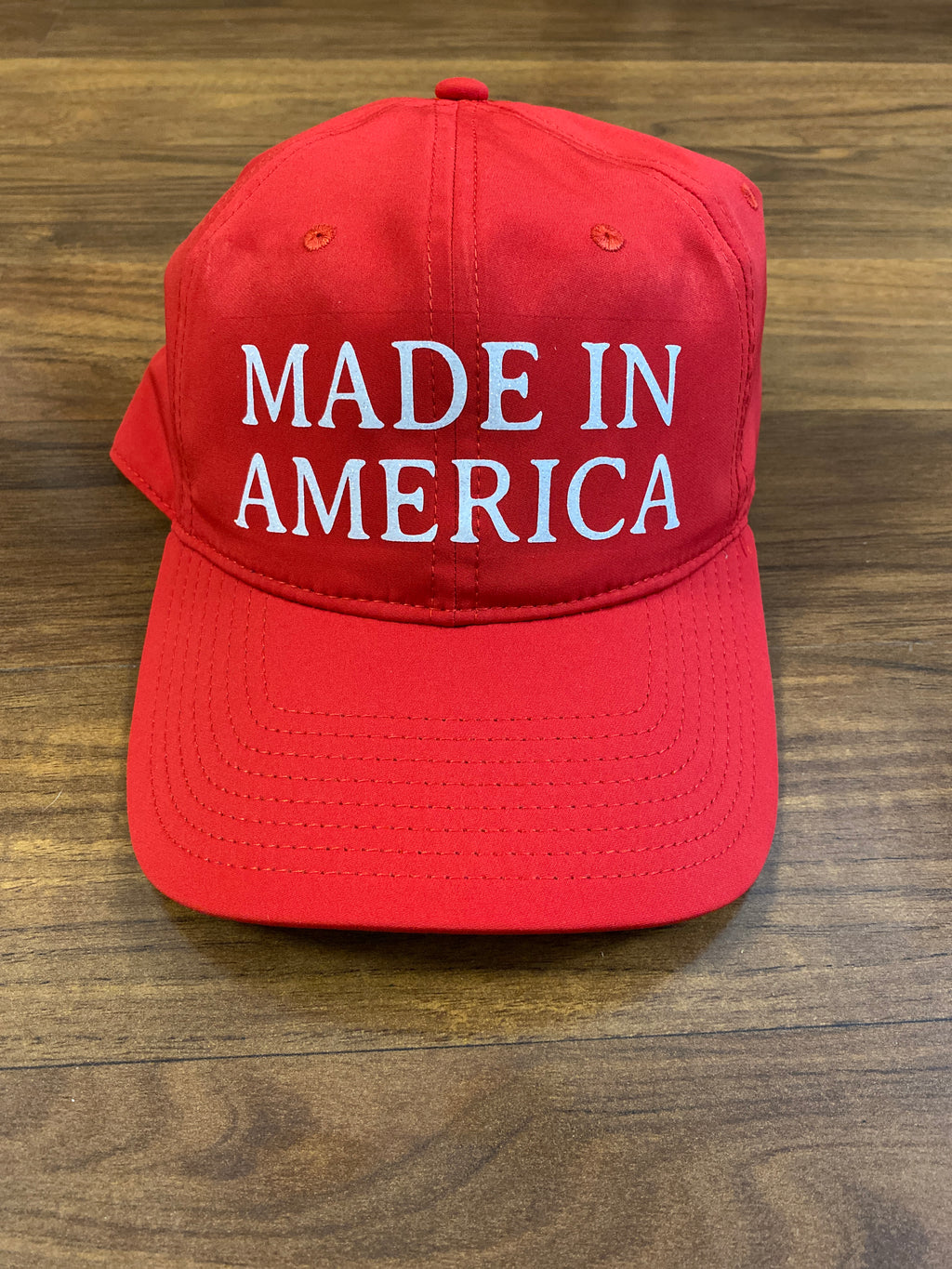 Red Made In America Hat