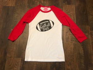 "Red ""It's Football Y'all"" Tee"