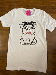 Piggy Kisses Tee