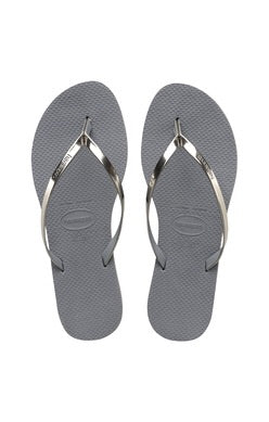 Steel Grey You Metallic Havaianas